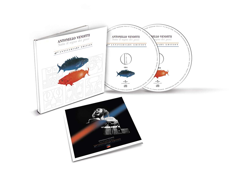 ANTONELLO VENDITTI - SOTTO IL SEGNO DEI PESCI -2CD (CD)