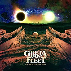 GRETA VAN FLEET - ANTHEM OF THE PEACEFUL ARM (CD)