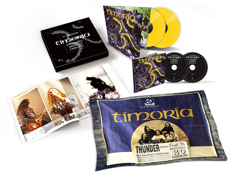 TIMORIA - VIAGGIO SENZA VENTO (ED. DELUXE) (LP)