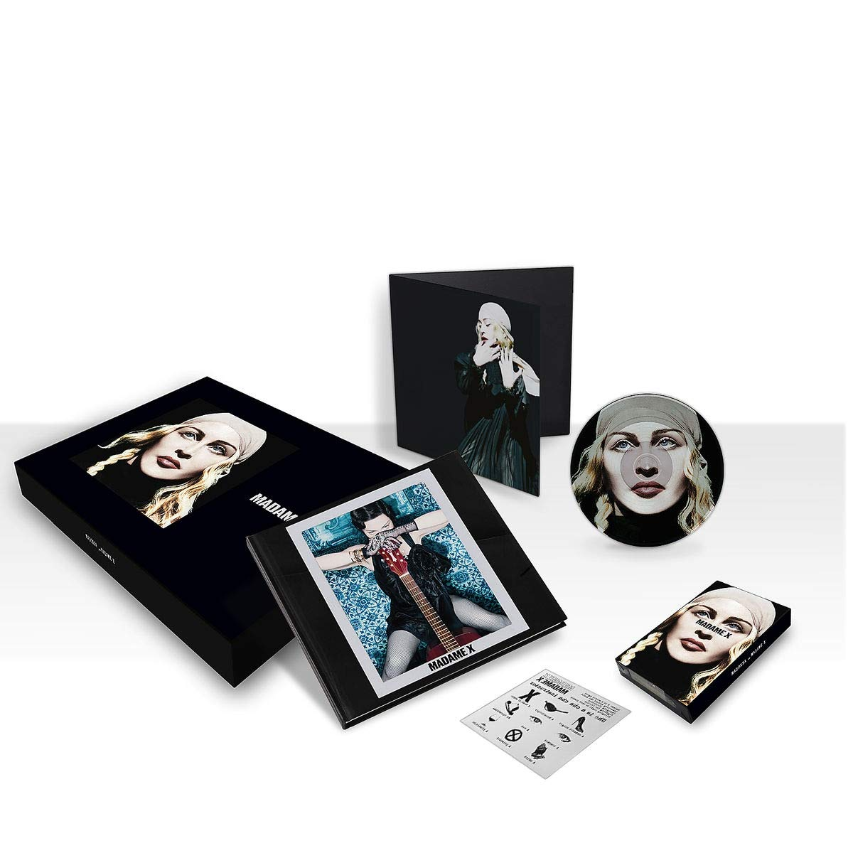 "MADONNA - MADAME X (LIMITED BOX 2 CD+7""+K7) (CD)"