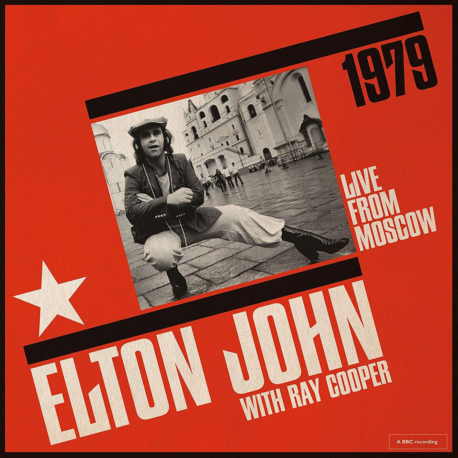 ELTON JOHN / RAY COOPER - LIVE FROM MOSCOW (CD)