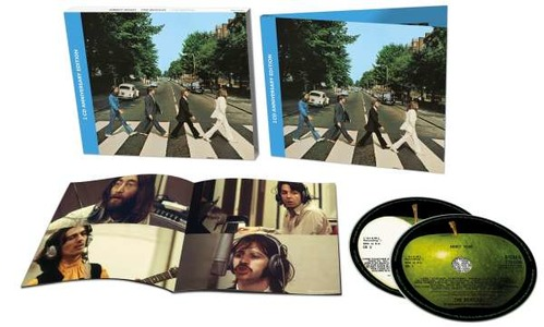 BEATLES - ABBEY ROAD (50TH ANNIVERSARY 2 CD DELUXE EDITION) (CD)
