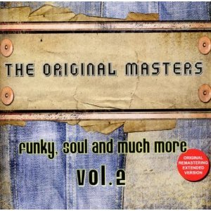 THE ORIGINAL MASTERS VOL.2 FUNKY, SOUL AND MUCH MORE VOL.2 (CD)