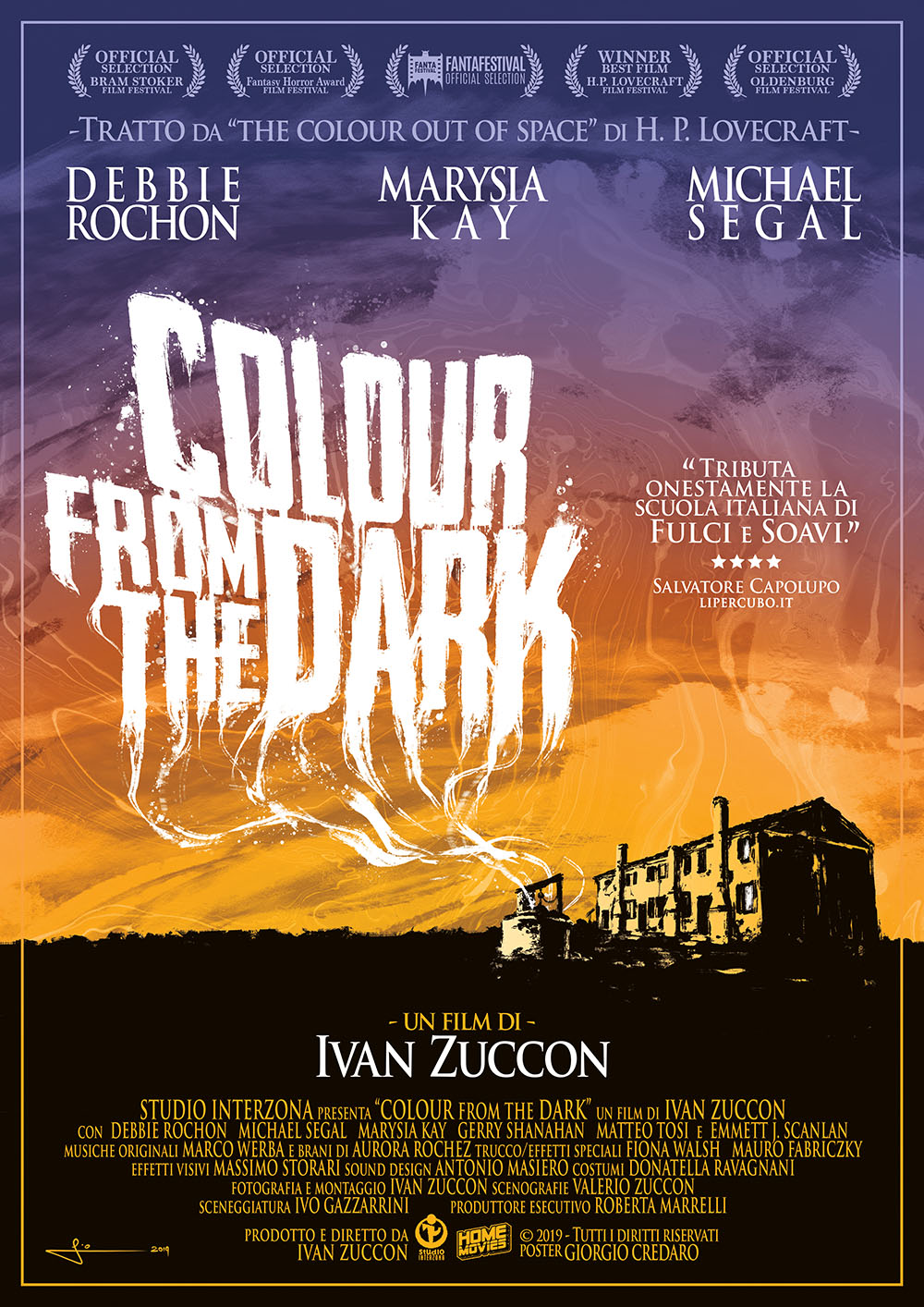 COLOUR FROM THE DARK (DVD)