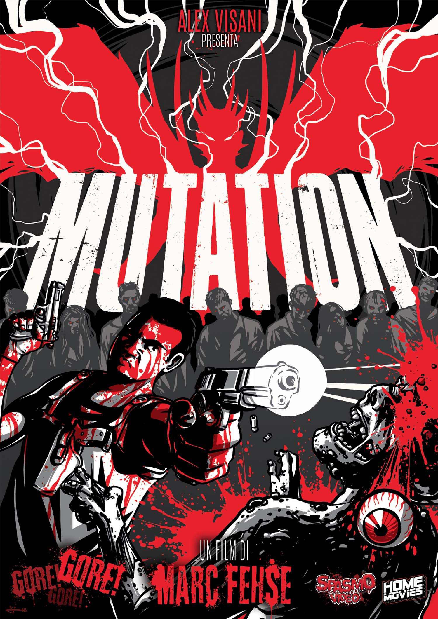 MUTATION (LINGUA ORIGINALE) - AUDIO TEDESCO (DVD)