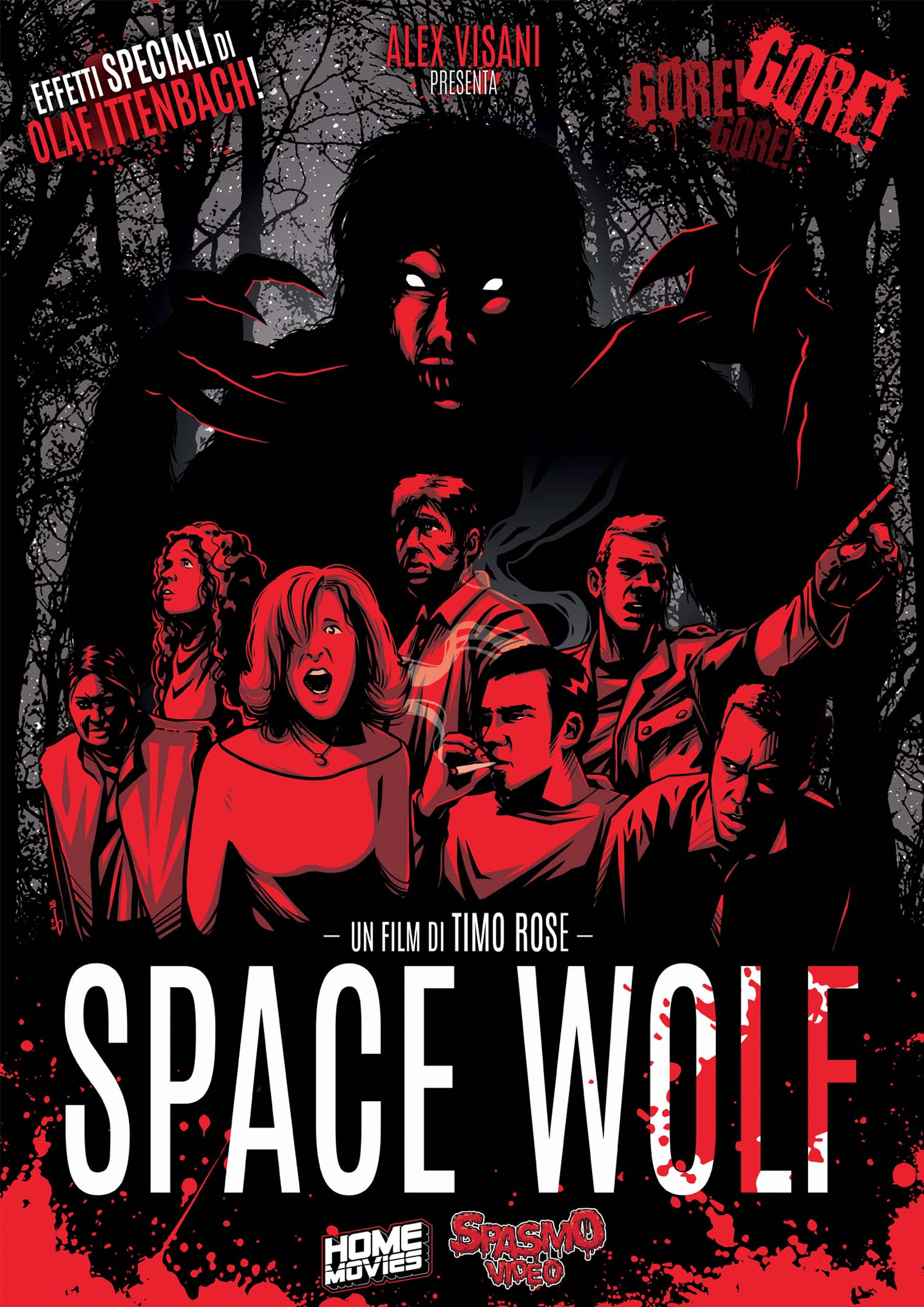 SPACE WOLF (LINGUA ORIGINALE) - AUDIO TEDESCO (DVD)