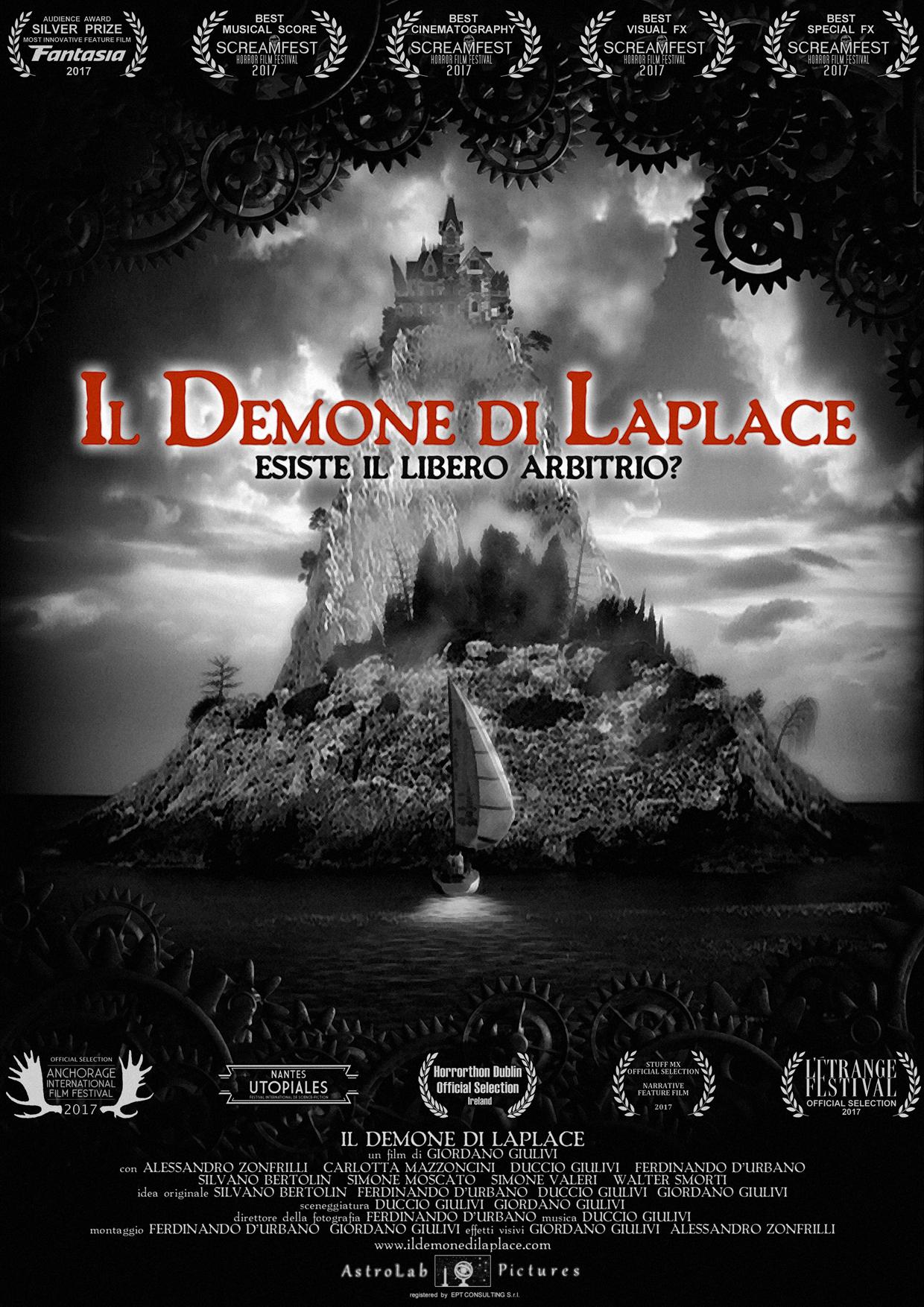 IL DEMONE DI LAPLACE - BLU RAY