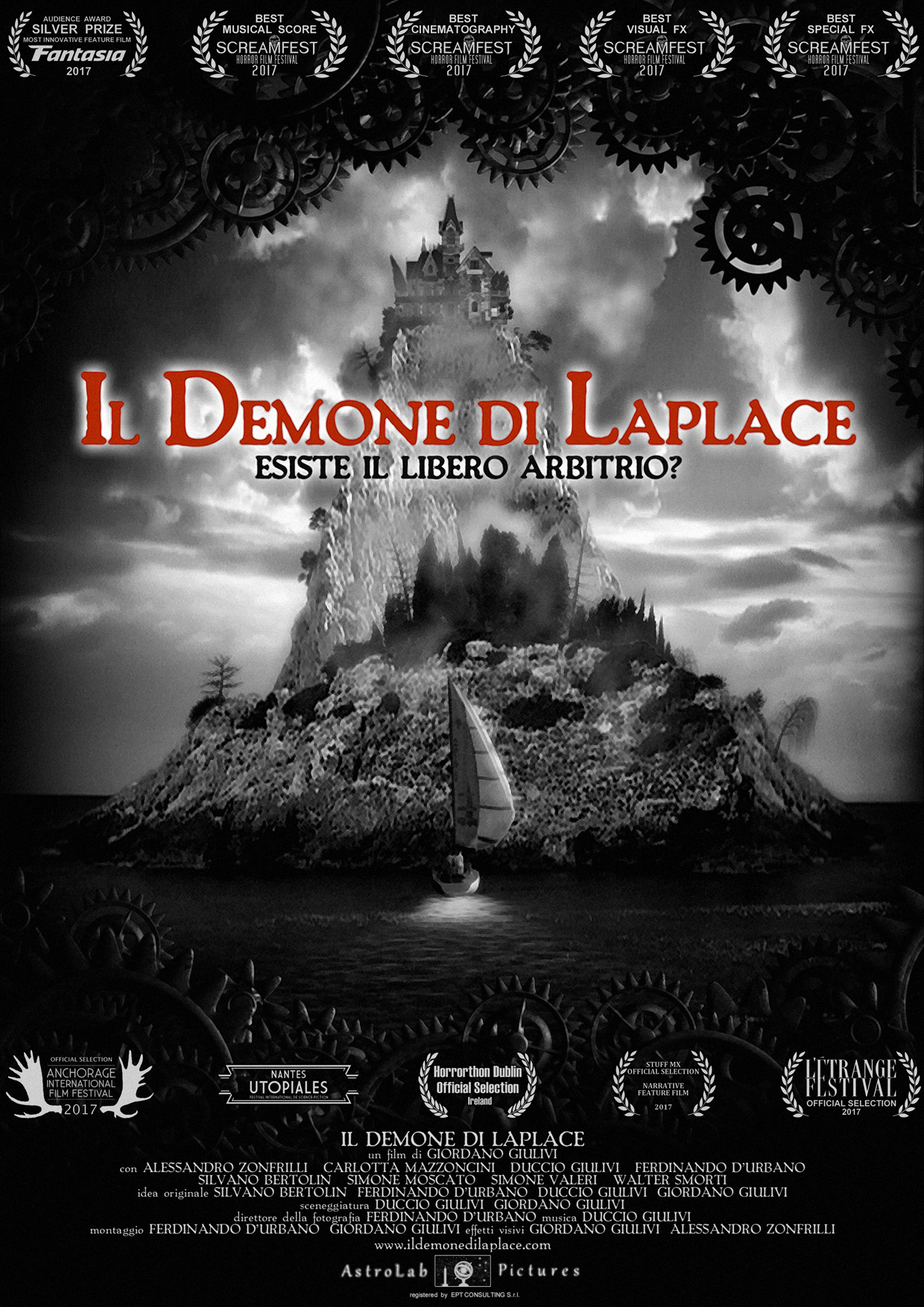 IL DEMONE DI LAPLACE (DVD)