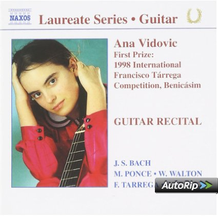 ANA VIDOVIC - COMPOSIZIONI DI BACH, PONCE, WALTON (CD)