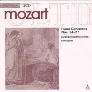 MOZART: PIANO CONCERTOS NOS. 24-27 -2CD (CD)
