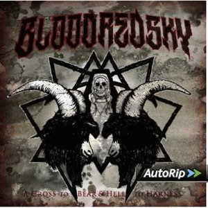 BLOODREDSKY - A CROSS TO BEAR & HELL TO HAR (CD)