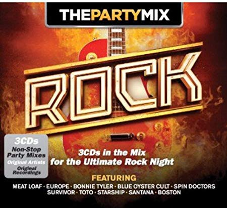 PARTY MIX ROCK -3CD (CD)