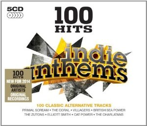100 HITS - INDIE ANTHEMS -5CD (CD)