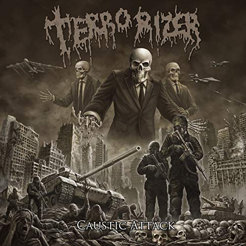 TERRORIZER - CAUSTIC ATTACK (CD)