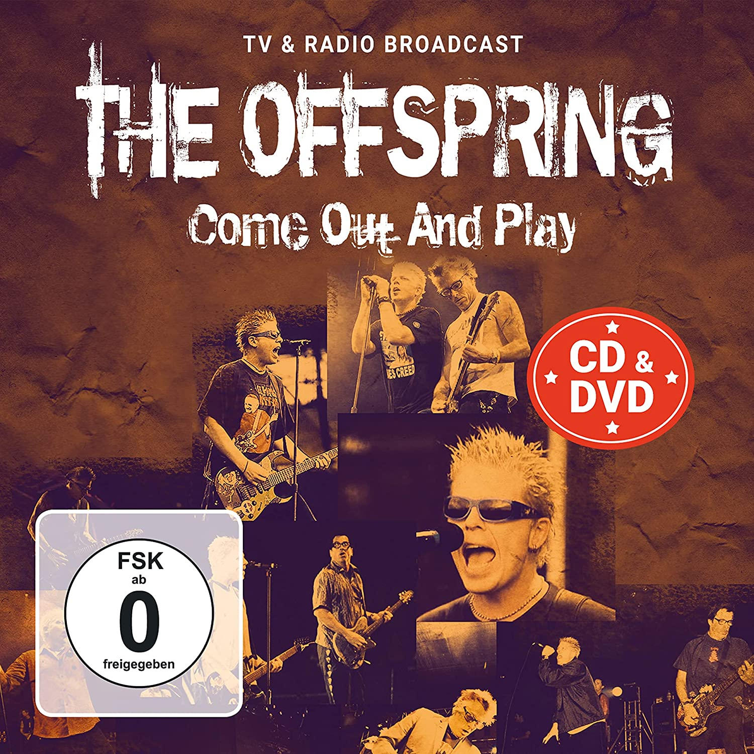 OFFSPRING - COME OUT AND PLAY: RADIO & TV BROADCAST (CD+DVD) (2