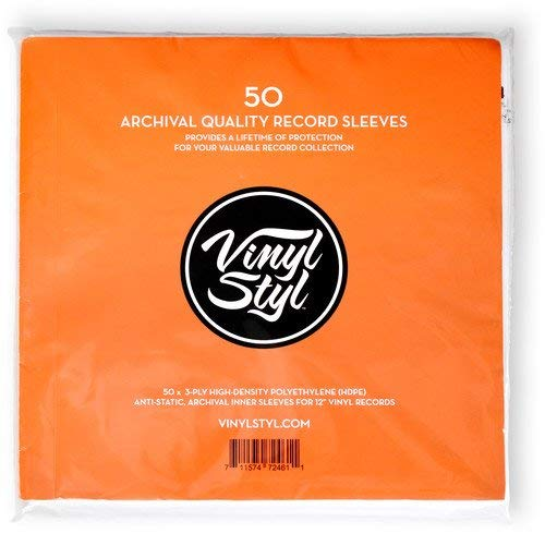 VINYL STYL - ARCHIVE QUALITY INNER RECORD SLEEVE (BUSTE INTERNE