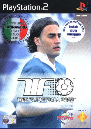 THIS IS FOOTBALL 2003 PS2 FC