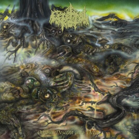 CEREBRAL ROT - ODIOUS DESCENT INTO DECAY (CD)