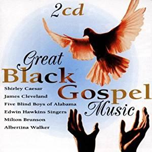 GREAT BLACK GOSPEL MUSIC (CD)
