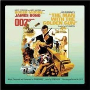 007 THE MAN WITH THE GOLDEN GUN JAMES BOND 007 (CD)