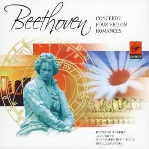 BEETHOVEN - CONCERTO POUR VIOLON ROMANCES (CD)