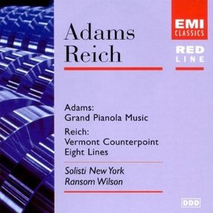 ADAMS - GRAND PIANOLA MUSIC (CD)