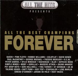 ALL THE BEST CHAMPIONS FOREVER -2CD (CD)
