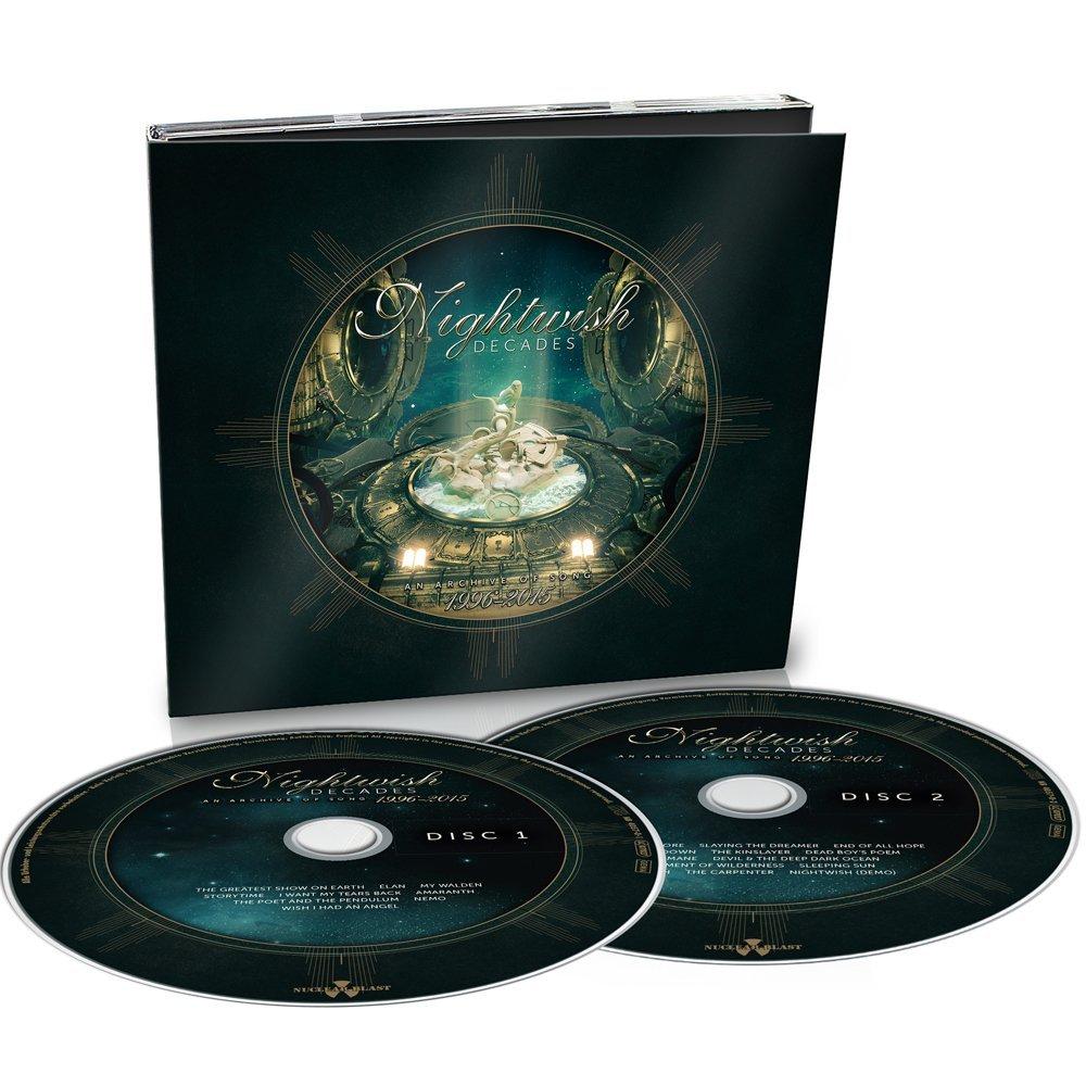 NIGHTWISH - DECADES (2 CD) (DIGIPACK) (CD)
