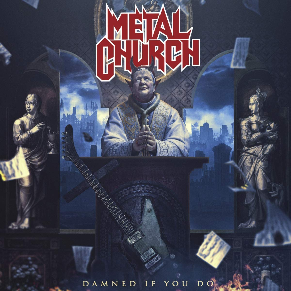 METAL CHURCH - DAMNED IF YOU DO (2 CD) (CD)