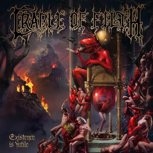 CRADLE OF FILTH - EXISTENCE IS FUTILE (CD)