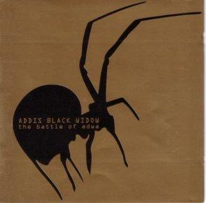BLACK ADDIS WIDOW - THE BATTLE OF ADWA (CD)