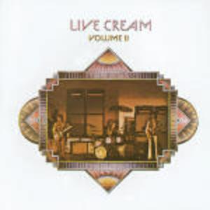 LIVE CREAM VOL.II CREAM (CD)