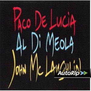 DE LUCIA MCLAUGHLIN DI MEOLA - THE GUITAR TRIO (CD)