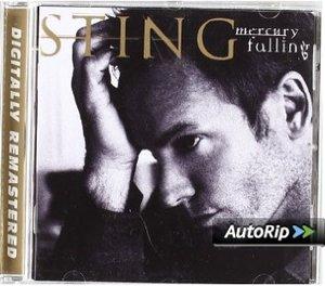 STING - MERCURY FALLING CD ROM (CD)