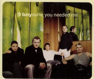 BOYZONE - YOU NEEDED ME (CD)