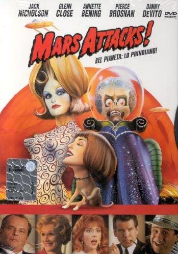 MARS ATTACK (DVD)
