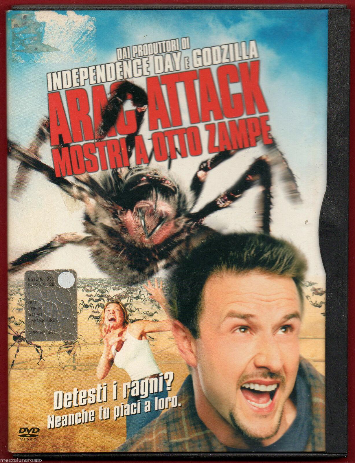 ARAC ATTACK MOSTRI A OTTO ZAMPE (EDIZIONE SNAPPER) - USATO (DVD)