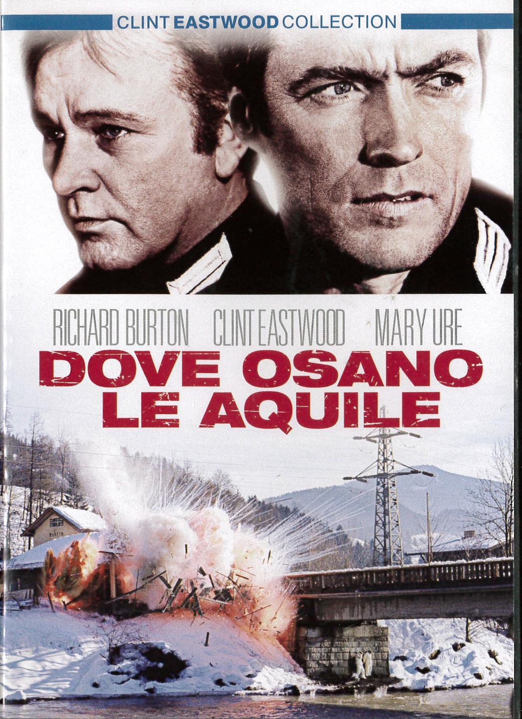 DOVE OSANO LE AQUILE (DVD)
