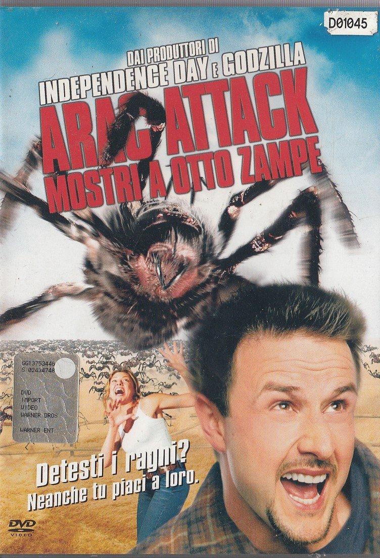 ARAC ATTACK MOSTRI A OTTO ZAMPE - EX NOLEGGIO (DVD)