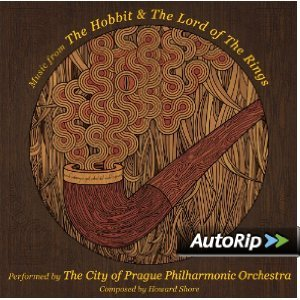 MUSIC FROM THE HOBBIT & THE LORD OF THE RING (CD)