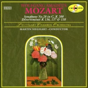 MOZART: SYMPHONY NO.28 IN C, K 200 (CD)