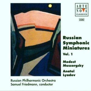 MUSSORGSKY LYADOV RUSSIAN SYMP MINIATURES (CD)
