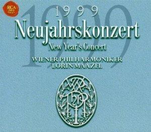 NEUJAHRSKONZERT NEW YEAR'S CONCERT 1999 + (CD)