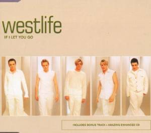 WESTLIFE - IF I LET YOU GO (CD)