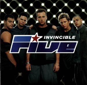FIVE - INVINCIBLE (CD)
