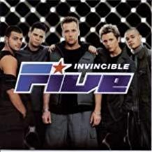 FIVE - INVINCIBLE (MC)