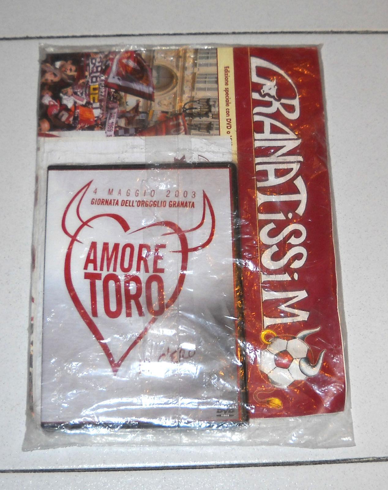 AMORE TORO - LIMITED EDITION (ADESIVI + RIVISTA) (VHS)
