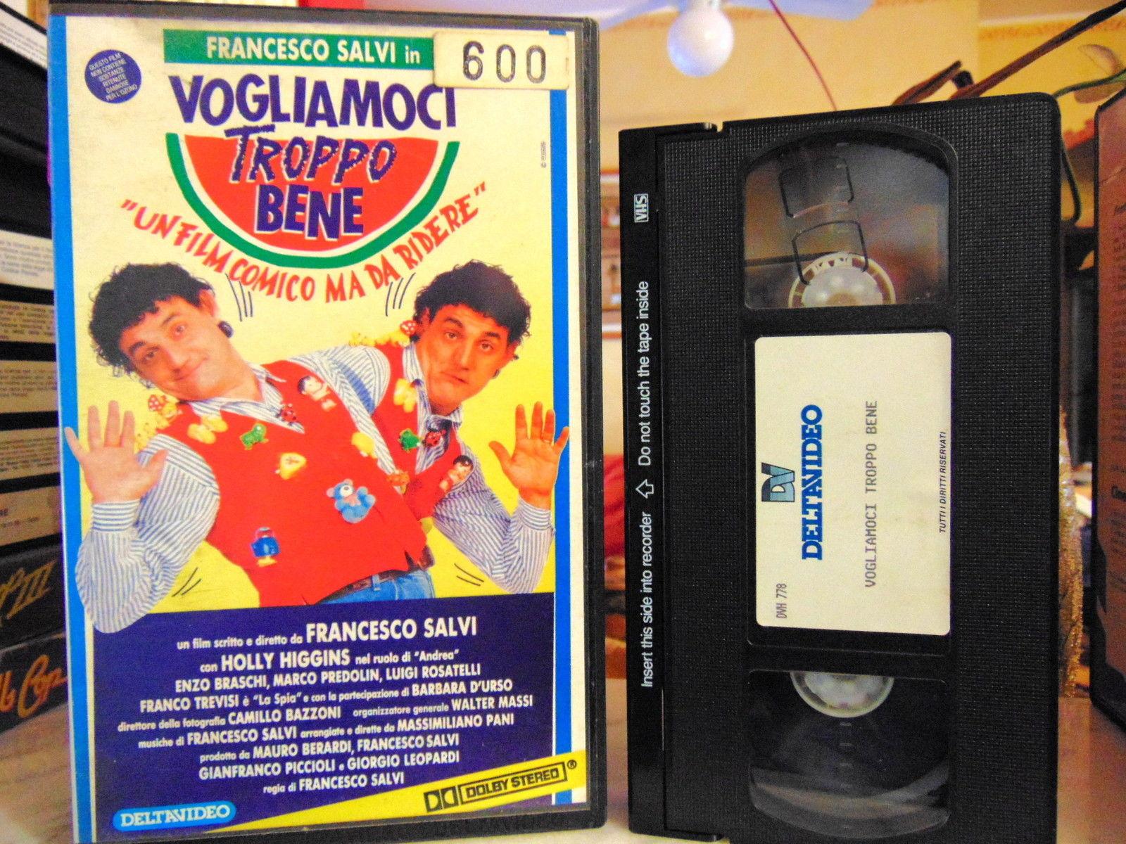 VOGLIAMOCI TROPPO BENE - VHS EX NOLEGGIO (VHS)