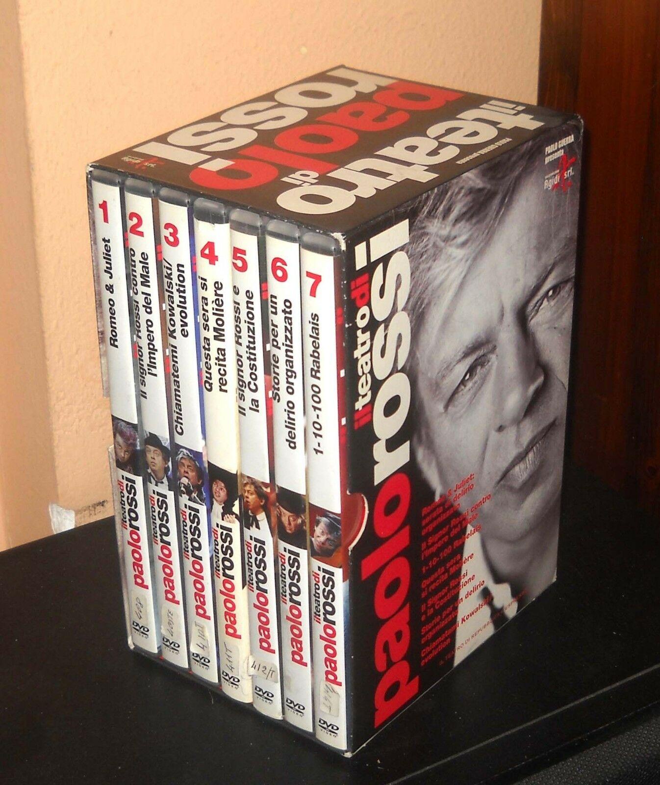 COF.IL TEATRO DI PAOLO ROSSI (7 DVD) (DVD)