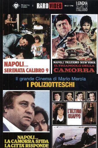 COF.MARIO MEROLA - I POLIZIOTTESCHI (4 DVD) (DVD)